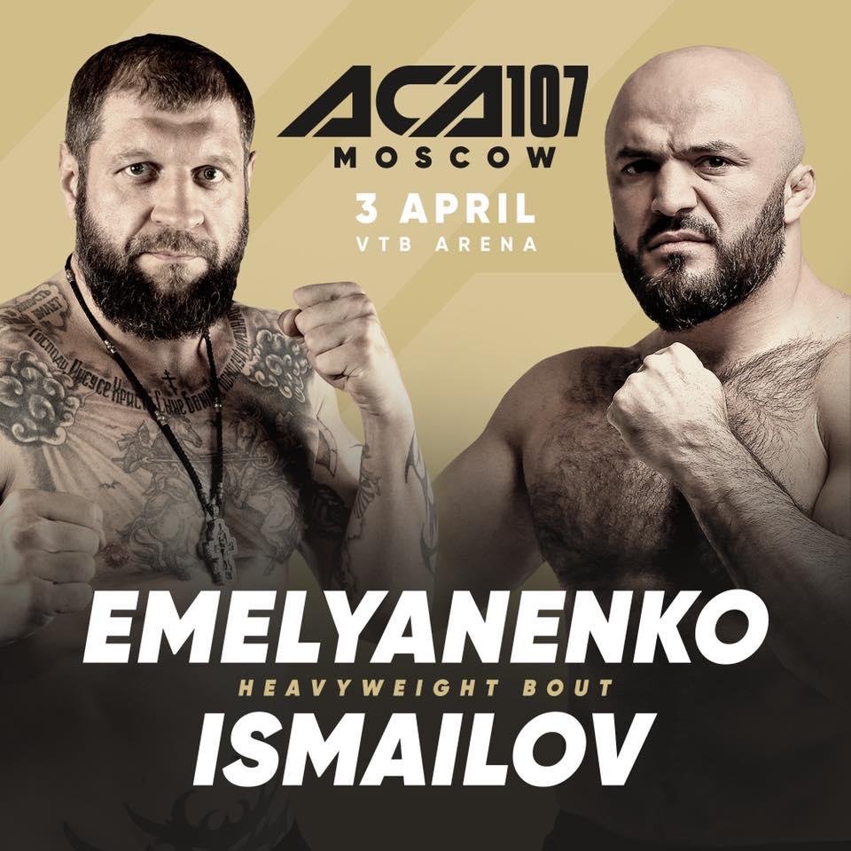 Aleksander Emelianenko zawalczy na gali ACA 107! Zmierzy się z ...