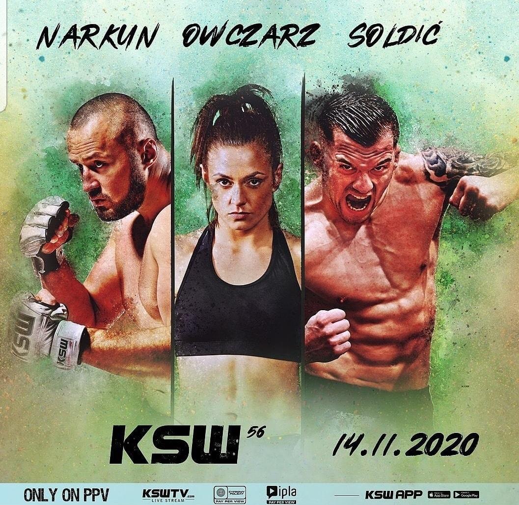 KSW 56: Soldić vs. Materla - karta walk - MMA - BĄDŹ NA BIEŻĄCO